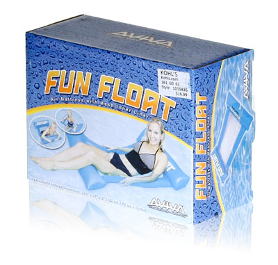 Davison Produced Product Invention: Aviva Fun Float Packaging