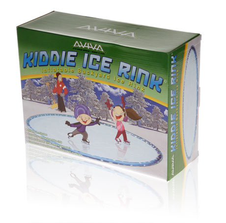 Davison Produced Product Invention: Aviva Kiddie Ice Rink Packaging