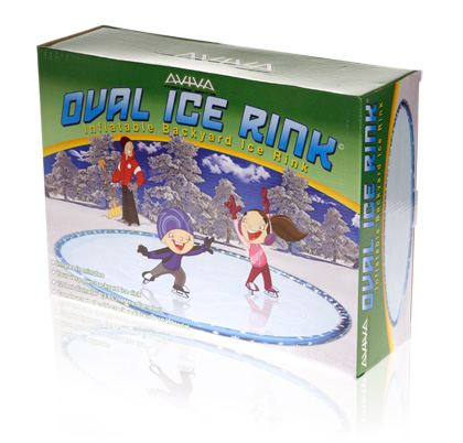 Davison Produced Product Invention: Aviva Oval Ice Rink Packaging