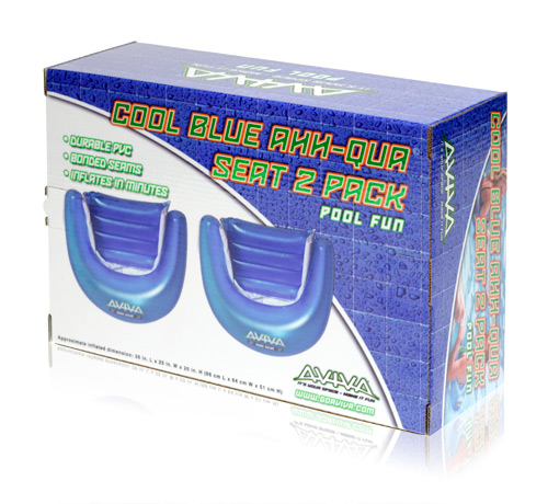 Davison Produced Product Invention: Aviva Cool Blue Sun Seats Packaging