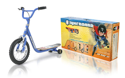 Davison produced product invention: The BikeBoard - Tyke