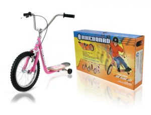 Davison produced product invention: The BikeBoard - Mini