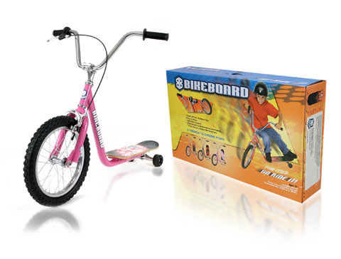 Final Manufactured Product for Davison Produced Product Invention The BikeBoard – Mini