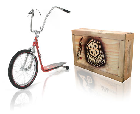 Davison produced product invention: The BikeBoard - Cruiser