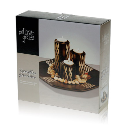 Davison Produced Product Invention: Candle Holder Garden Packaging