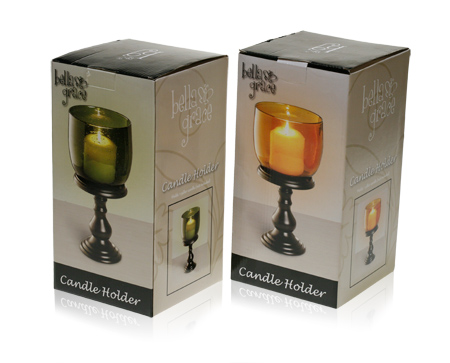 Davison Produced Product Invention: Candle Holder – Medium Packaging
