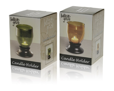 Davison Produced Product Invention: Candle Holder – Short Packaging