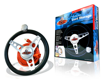 Davison Produced Product Invention: Steering Reel Cord Storage
