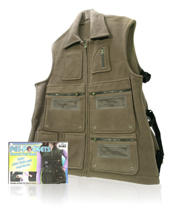 Davison Produced Product Invention: The Critter Vest