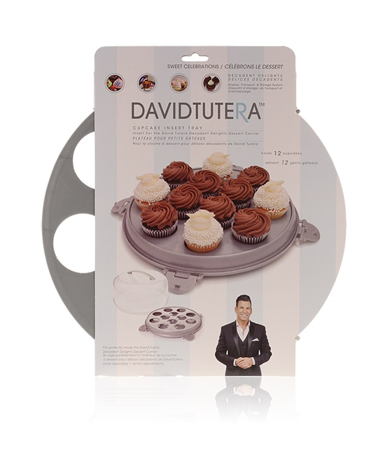 Davison Produced Product Invention: David Tutera Dessert Carrier Cupcake Insert
