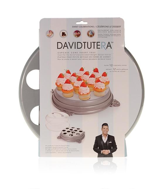 Davison Produced Product Invention: David Tutera Dessert Carrier Cupcake Cone Insert