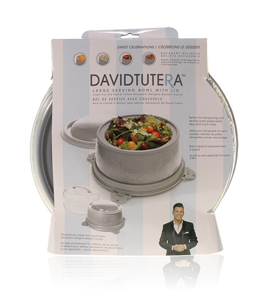 Davison Produced Product Invention: David Tutera Dessert Carrier Large Serving Bowl Insert