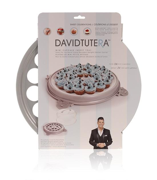 Davison Produced Product Invention: David Tutera Dessert Carrier Mini Cupcake Insert