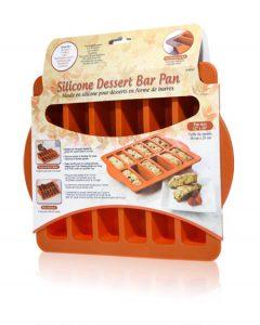 Davison produced product invention: Silicone Dessert Bar Pan