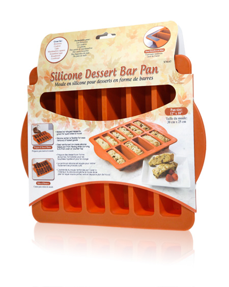 Davison Produced Product Invention: Silicone Dessert Bar Pan