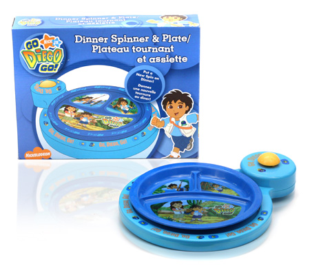 Davison Produced Product Invention: Diego Dinner Spinner & Plate