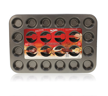 Davison Produced Product Invention: 24-Cup Mini Muffin Pan – Mrs. Fields
