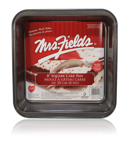 Davison Produced Product Invention: 8 Inch Square Pan – Mrs. Fields