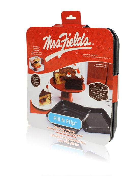 Davison Produced Product Invention: Fill N Flip Locking Layer Pan – Mrs. Fields