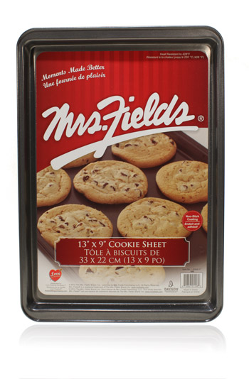 Davison Produced Product Invention: Small Cookie Sheet – Mrs. Fields