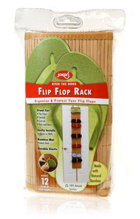 Davison Produced Product Invention: Flip Flop Rack
