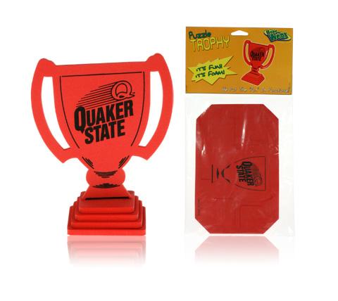 Davison Produced Product Invention: FoamWorx Trophy Puzzle