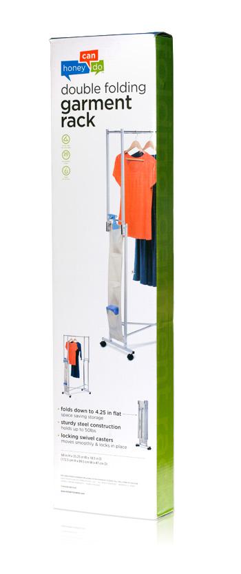 Davison Produced Product Invention: Garment Rack