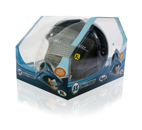 Davison Produced Product Invention: Fuel Helmet Packaging