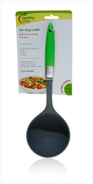 Davison Produced Product Invention: Serving Ladle