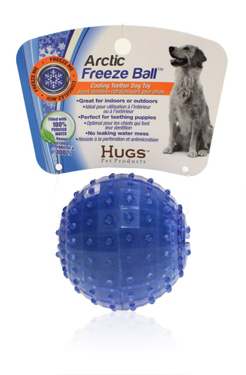 Davison Produced Product Invention: Arctic Freeze Ball