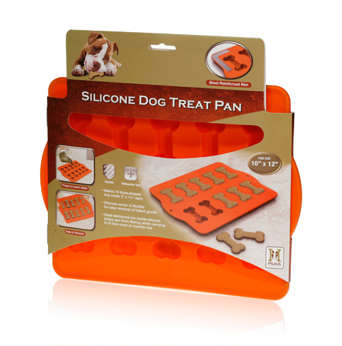 Davison Produced Product Invention: Silicone Dog Treat Pan