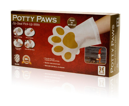 Davison Produced Product Invention: Potty Paws