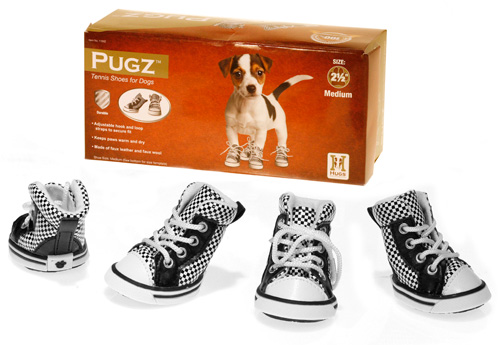 Final Manufactured Product for Davison Produced Product Invention Pugz Tennis Shoes