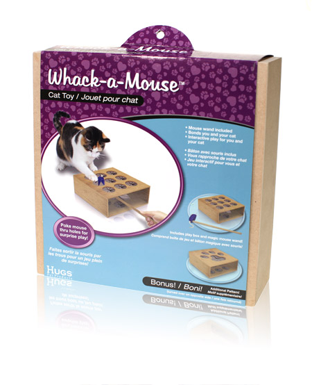 Final Manufactured Product for Davison Produced Product Invention Whack a Mouse
