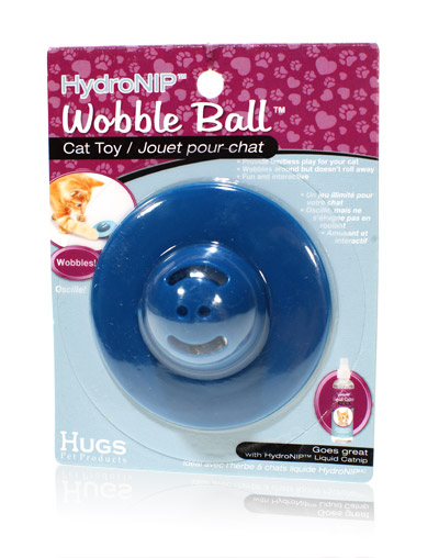 Final Manufactured Product for Davison Produced Product Invention Wobble Ball