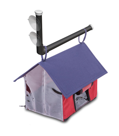 Davison Produced Product Invention: Viewport Birdhouse