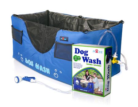 Davison Produced Product Invention: Dog Wash