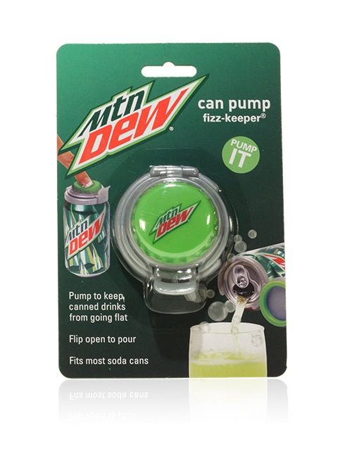Davison Produced Product Invention: Can Pump – Mountain Dew