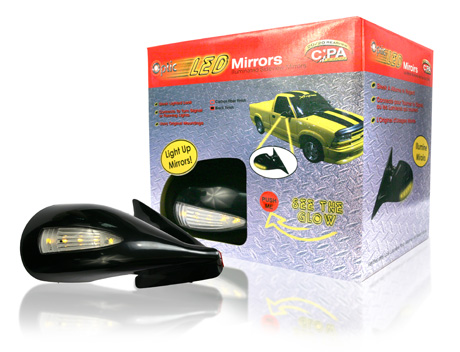 Davison Produced Product Invention: Optic Mirror (LED) Packaging