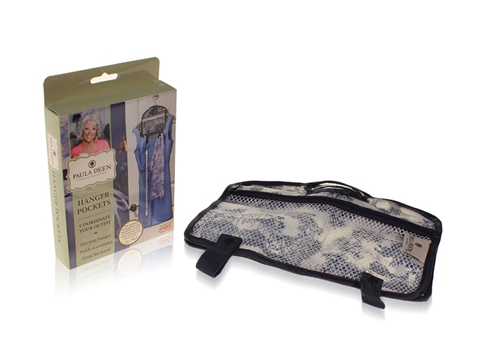 Davison Produced Product Invention: Hanger Pockets – Paula Deen Everyday
