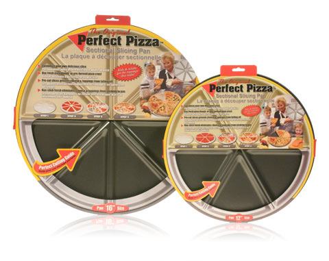Davison Produced Product Invention: The Perfect Pizza Pan