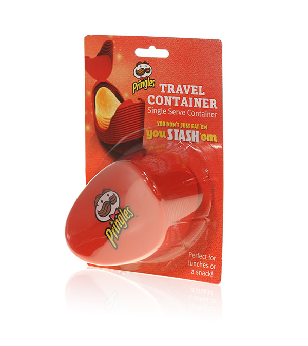 Davison Produced Product Invention: Pringles® Travel Container
