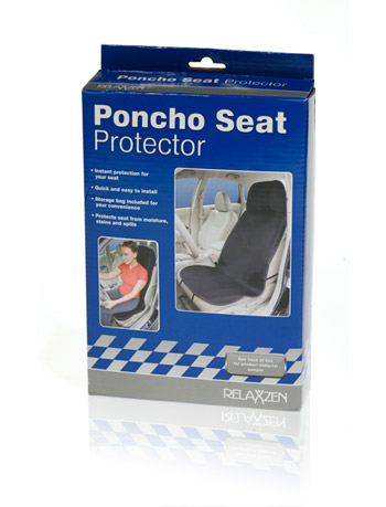 Davison Produced Product Invention: Poncho Seat Protector Packaging
