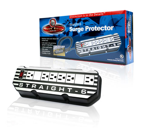Davison Produced Product Invention: Straight 6 Surge Protector