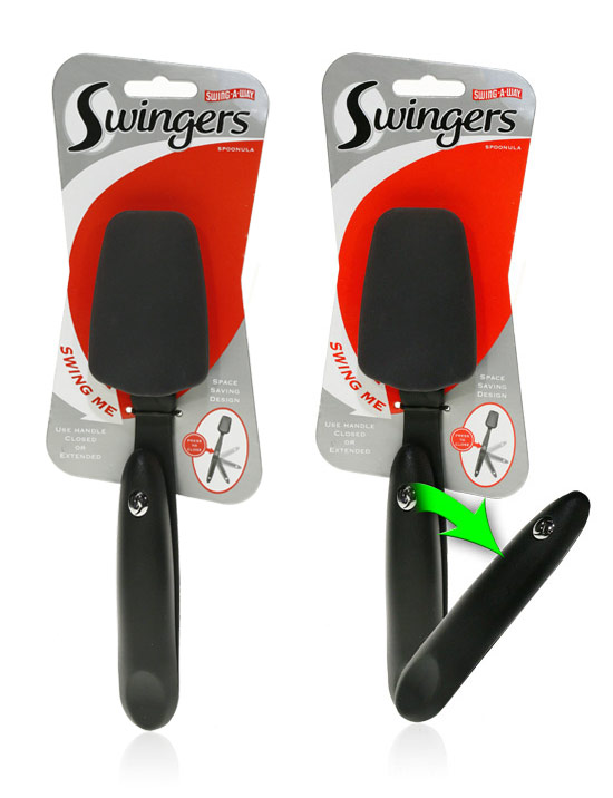 Davison Produced Product Invention: Swingers Spoonula