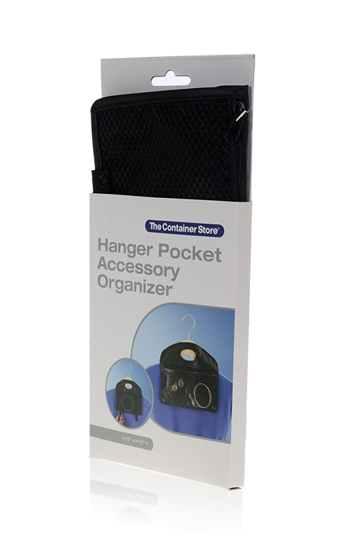 Davison Produced Product Invention: Hanger Pocket Accessory Organizer – The Container Store