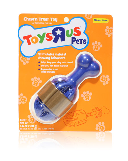 "Davison Produced Product Invention: Toys ""R"" US Pets Treat Toy Drumstick"