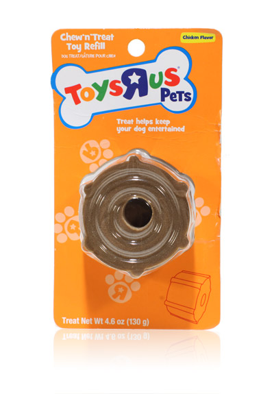 """Davison Produced Product Invention: Toys """"R"""" US Pets Treat Toy Refill Pack"""