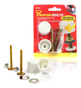 Davison produced product invention: Twister Bolts