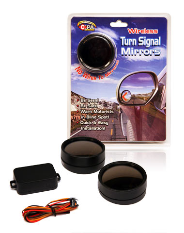 Davison Produced Product Invention: Wireless Turn Signal Mirrors